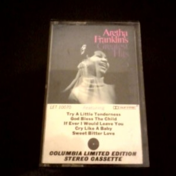 columbia Other - Aretha Franklin Greatest Hits Limited Cassette